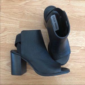 Steven Madden open toe heels